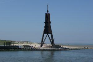 Die Kugelbake ist das bekannteste Wahrzeichen von Cuxhaven
