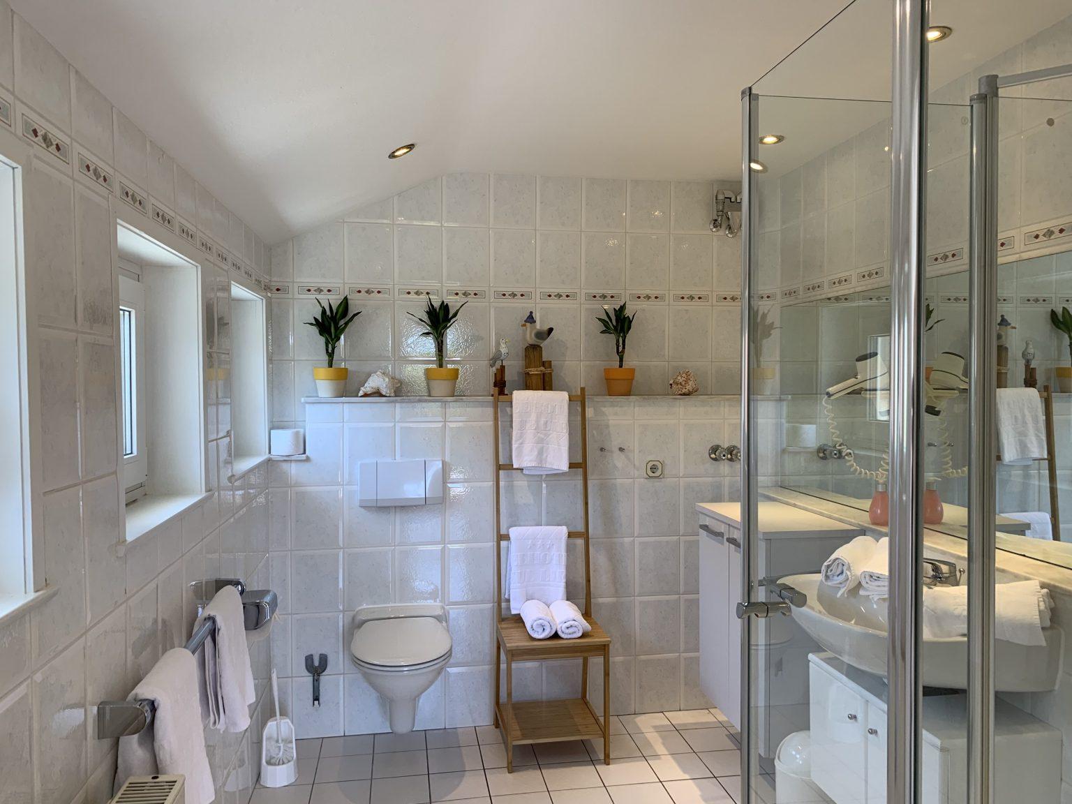 Badezimmer Apartement Wattenmeer